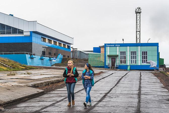 Прогулка по российскому городу в Норвегии