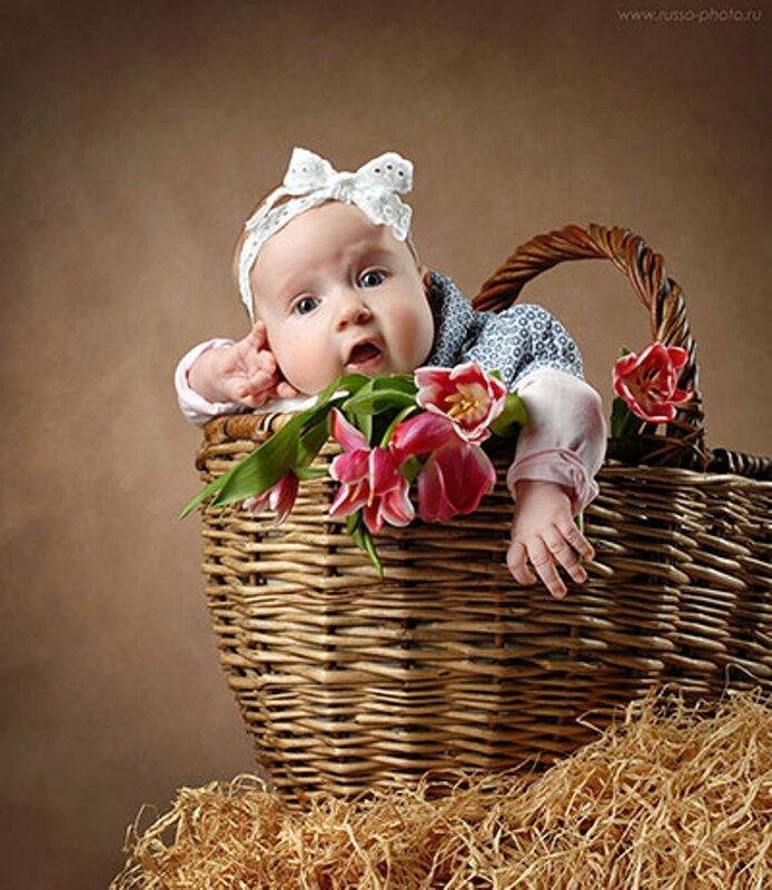 Открытки и фотографии малышей