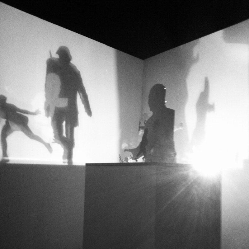 Инсталляция А. Трегубова на Премии Кандинского