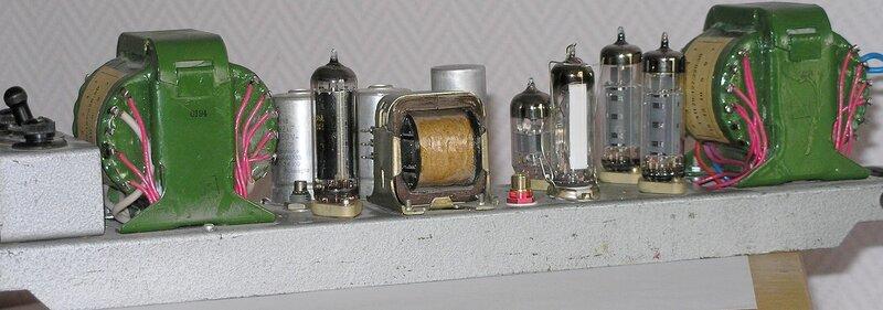 и ещё автор схемы приложил внешний вид работы.  Ну описано два трансфоратора, в схеме приведены два транса...