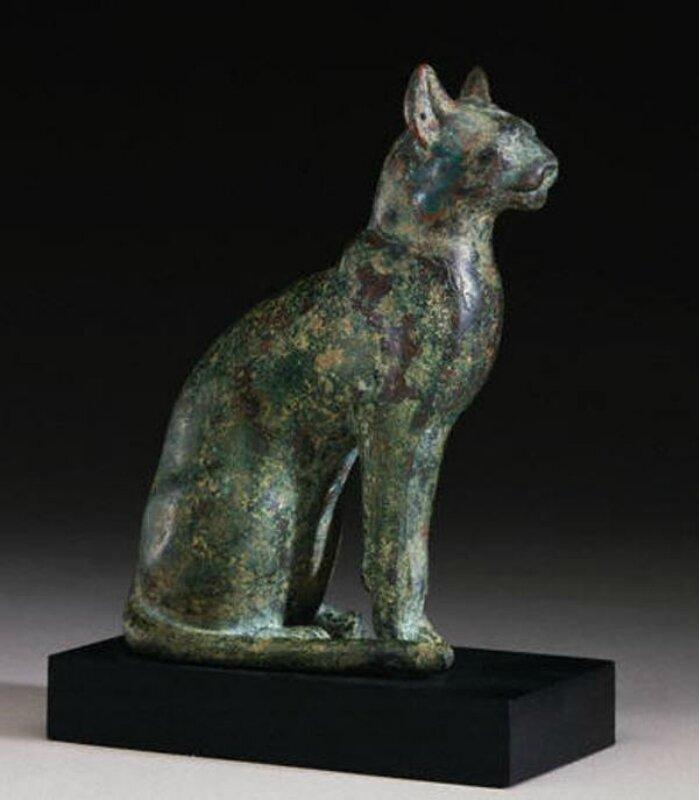 Статуя кота в египте