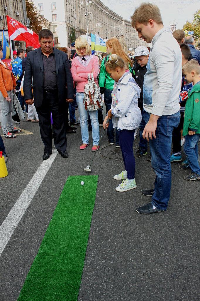 Освоение навыков для игры в гольф