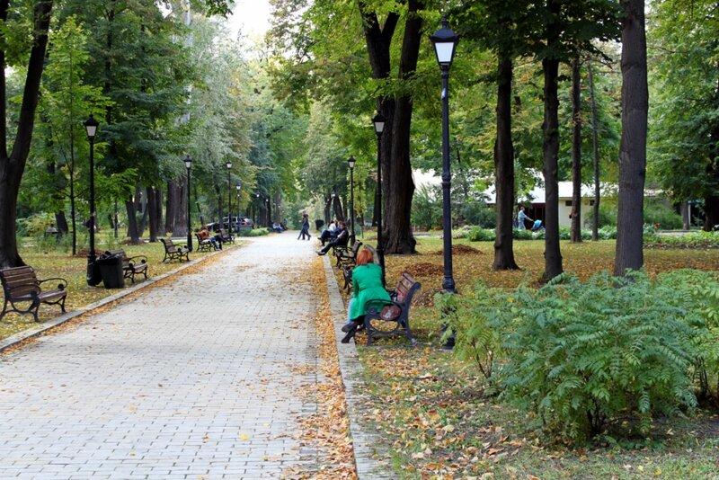 Мариинский парк в октябре