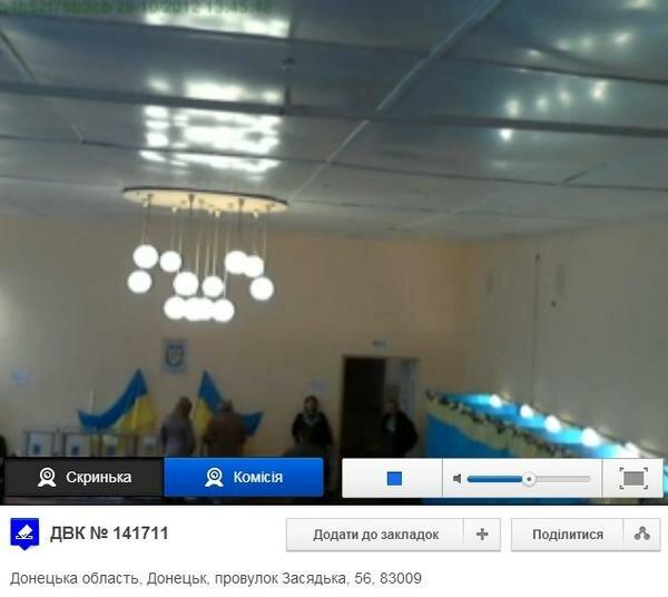 веб-камера на избирательном участке