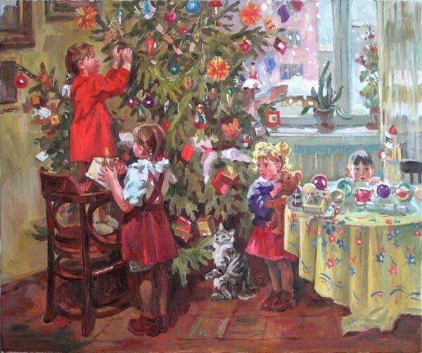 Елена Хмелёва. Новый год