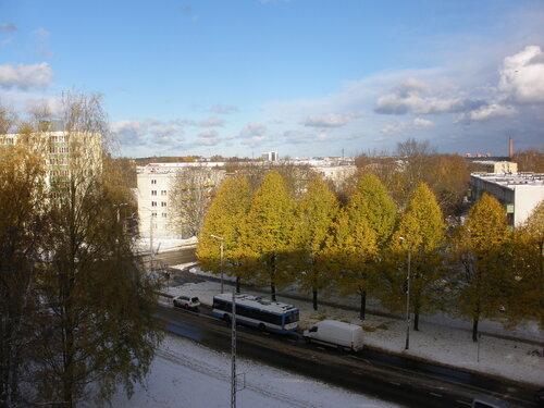 Золотая осень. Первый снег.