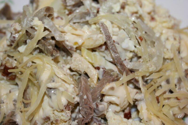 салат мужской с говядиной рецепт с фото