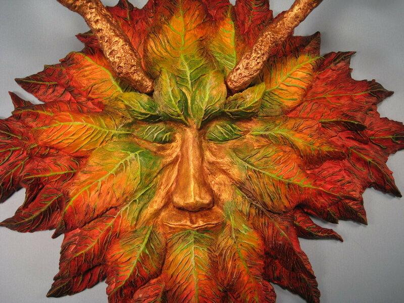 green_man_colorful_autumn