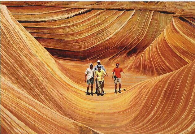 Волна (The Wave). Аризона, США