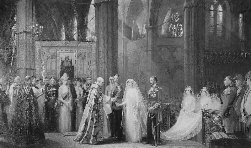 Брак принцессы Марии, 28 февраля 1922