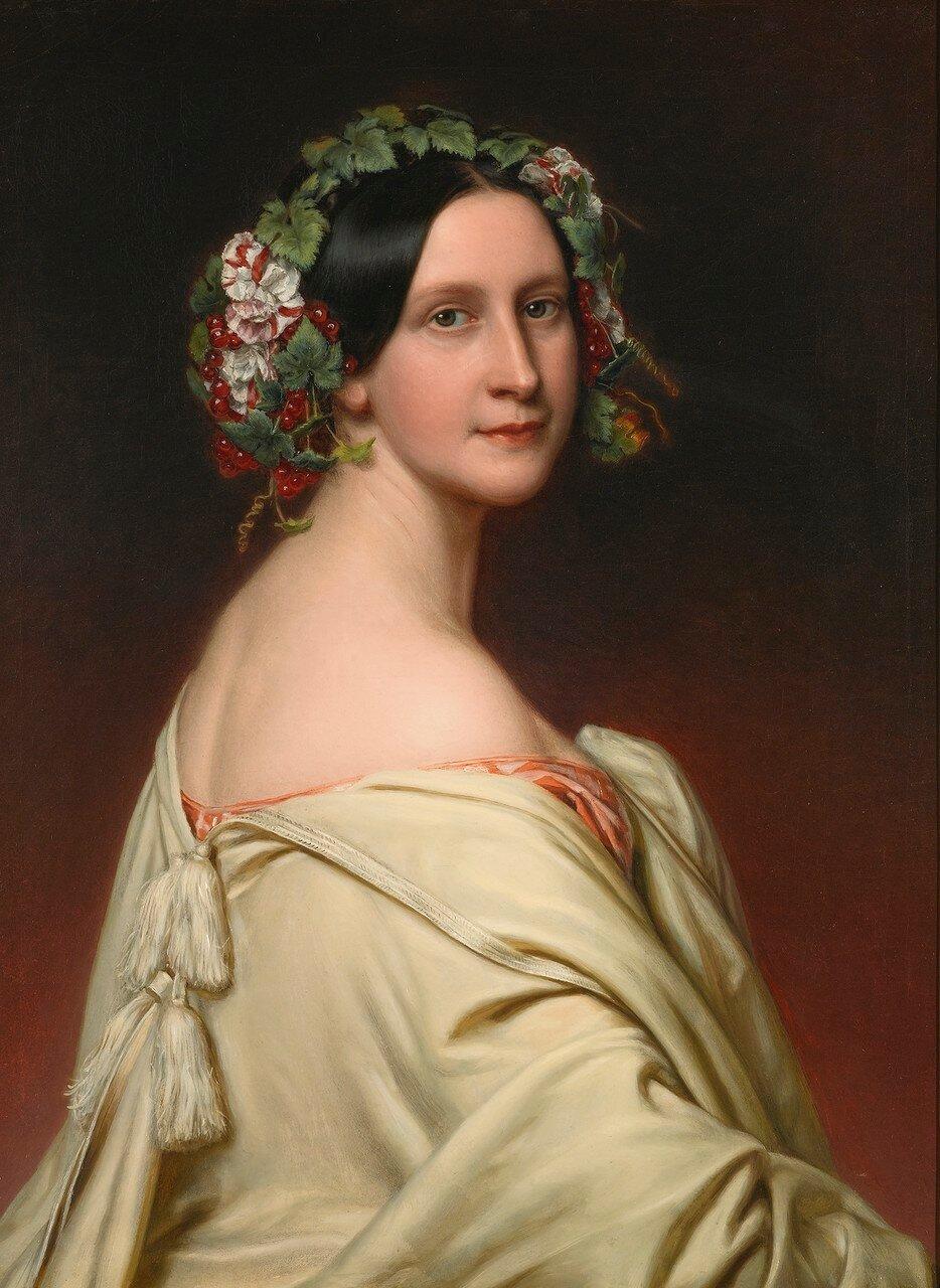 Joseph Karl Stieler<br /> PORTRAIT OF CHARLOTTE BARONIN VON OVEN (1809 - 1891)<br /> Оценка   20,000 — 30,000  GBP