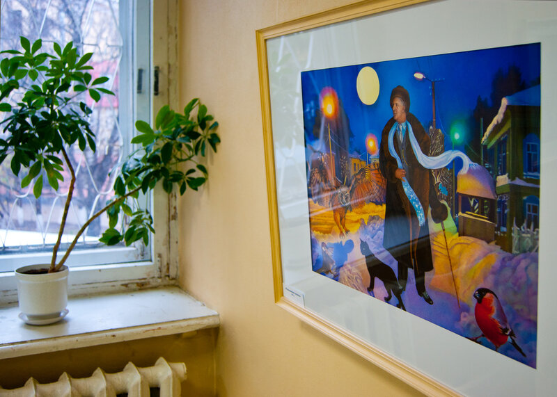 Картины–видения Марины Поспеховой