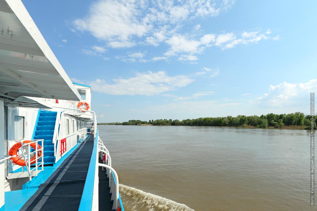круиз в Казахстан на теплоход Русь Великая по реке Бахтемир