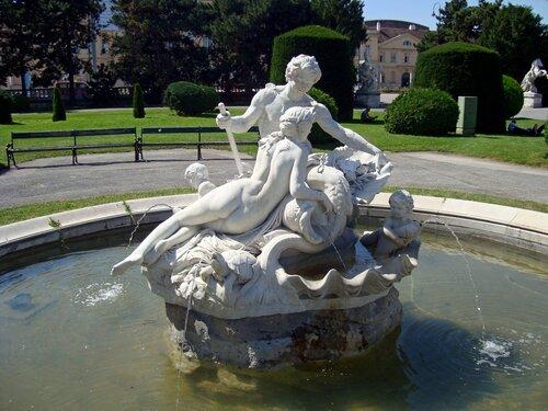 Tritonen- und Najadenbrunnen, Wien, Austria