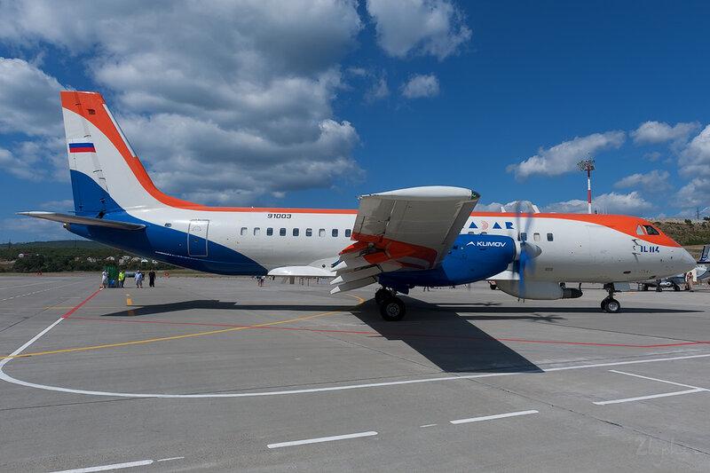 Ильюшин Ил-114ЛЛ (RA-91003) RADAR DSC_4538