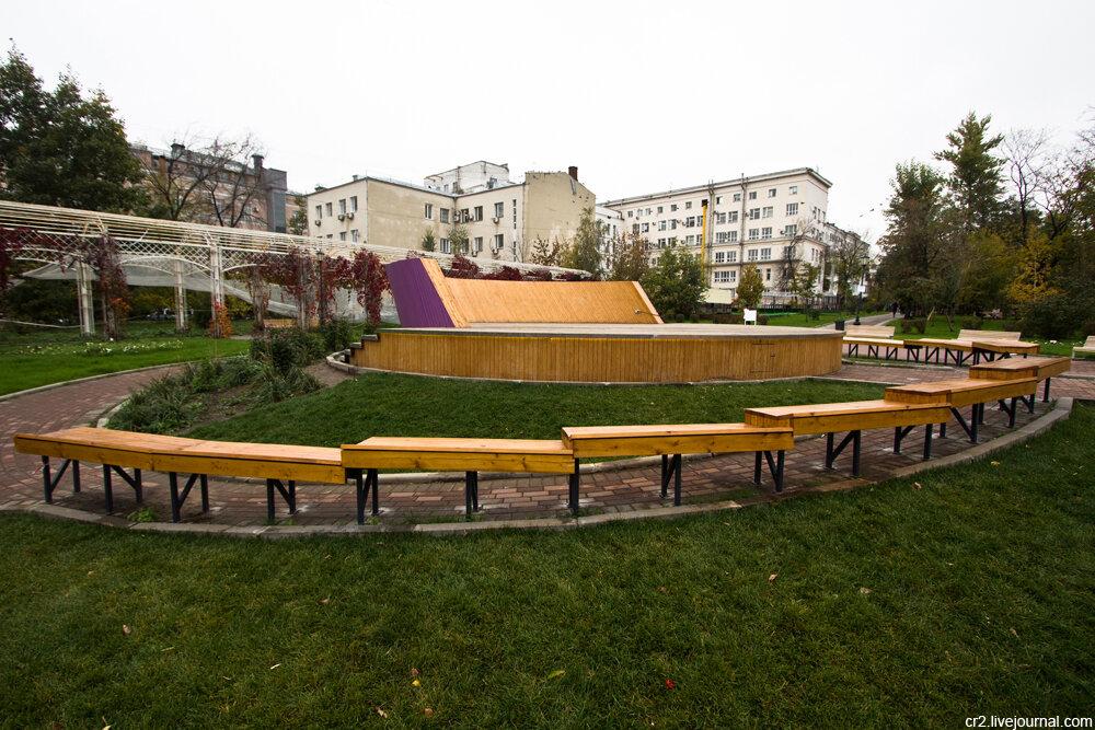 莫斯科公园的新变化(1) - die rose - die rose的博客