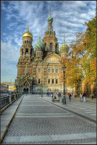 Cанкт-Петербург. Октябрь 2012 года.