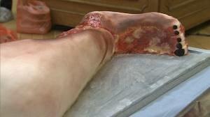 Вкусные «человеческие органы» были представлены в Лондоне