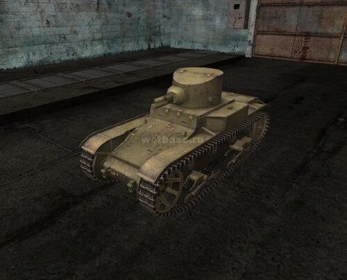 T1E6 танк