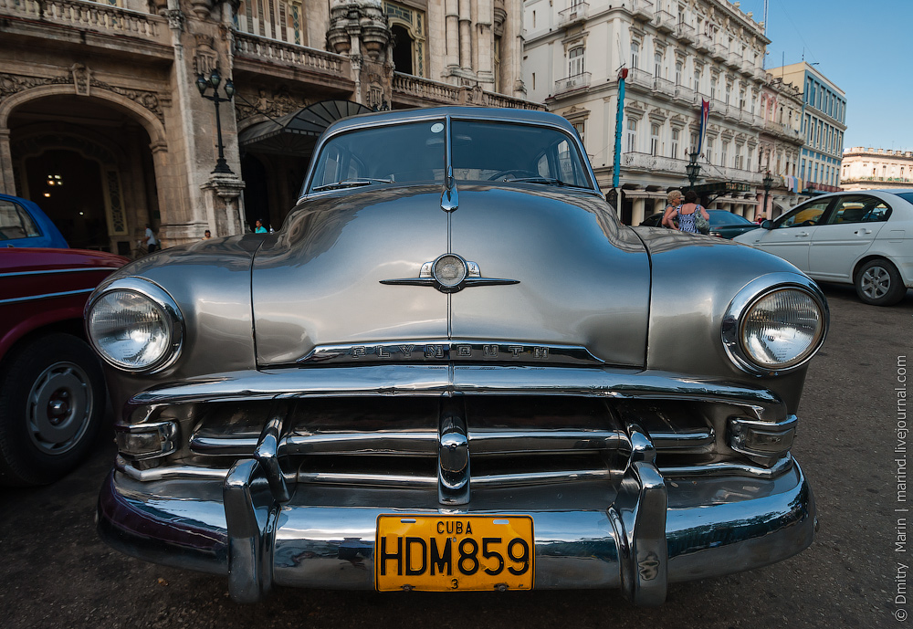Гавана, Куба, автомобили