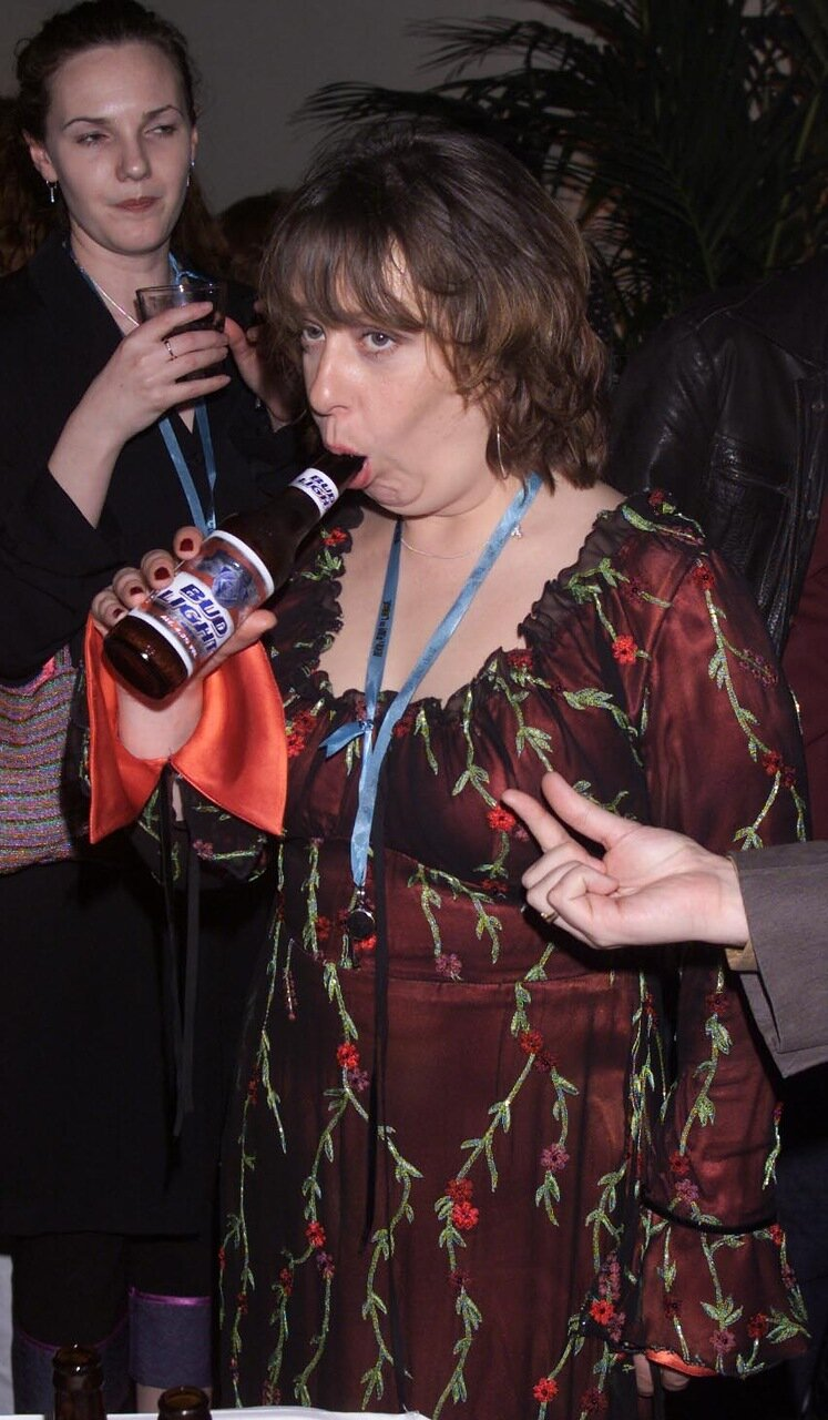 Kathy Burke at party for film 'Kevin and Perry Go Large'