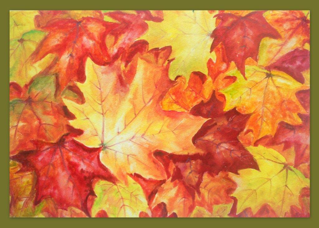 Листья, листья...