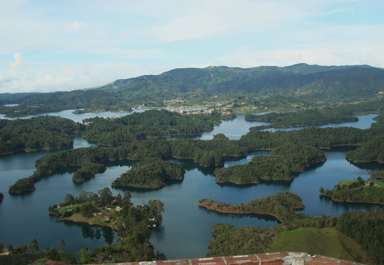 View from the top of La Piedra