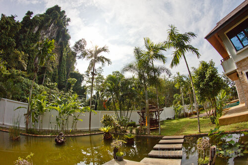 karst and view from the garden