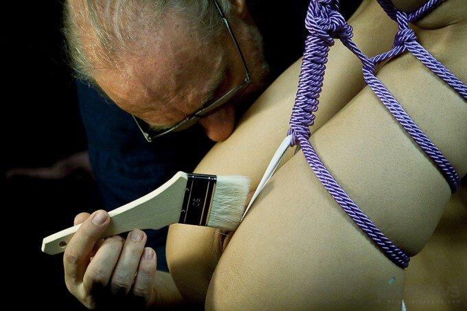 Эротическое связывание веревками фото 372-905