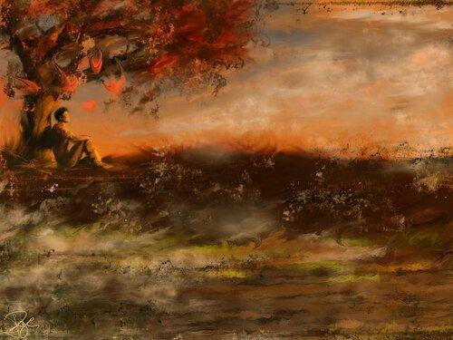 Landscape of Sad
