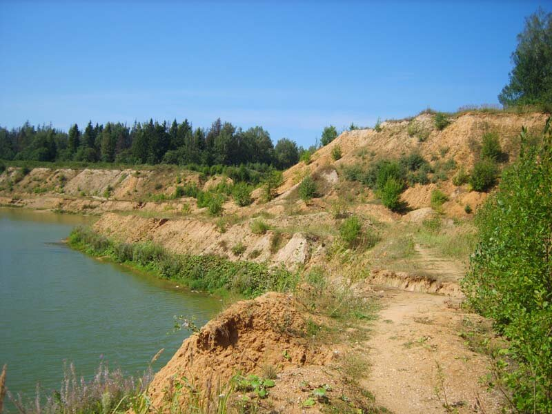 карьер в Шарапово 2