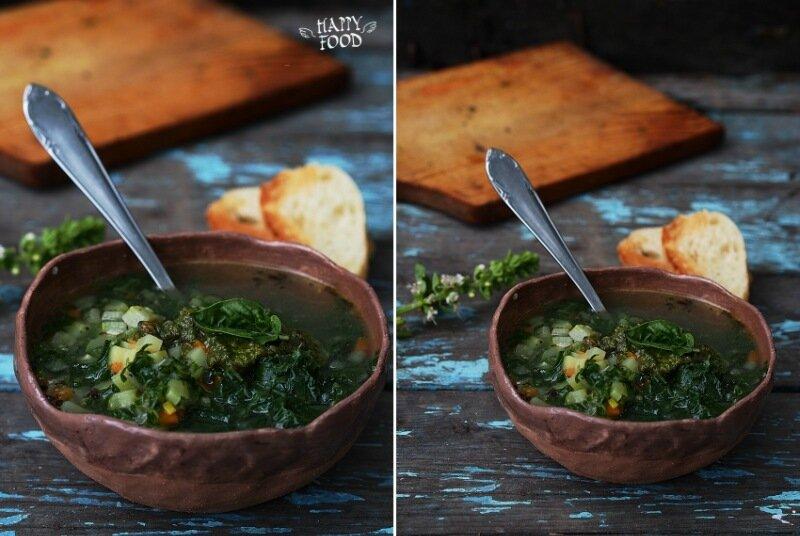 Суп аля минестроне с капустой