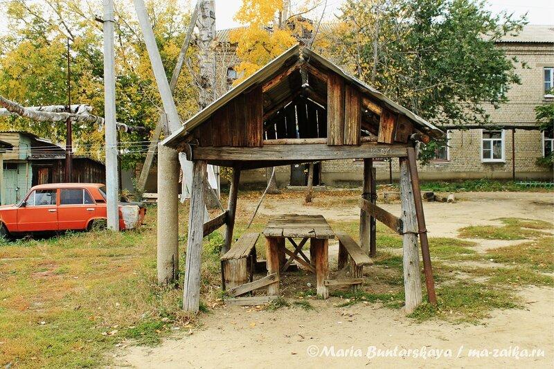Прикольная беседка, Базарный Карабулак, 03 октября 2012 года