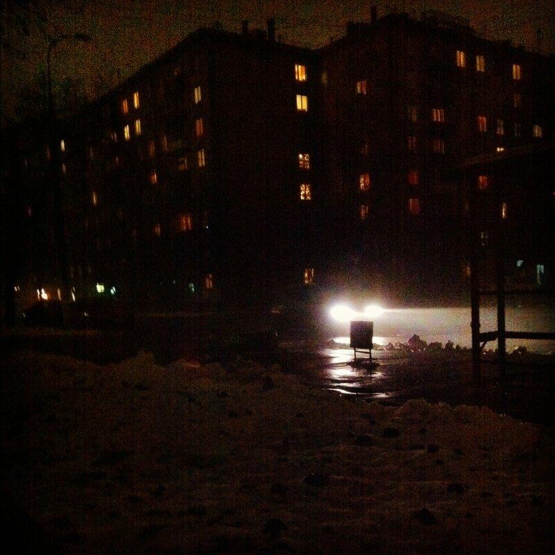 Огонек в ночи
