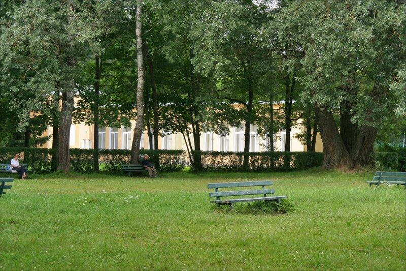 Павловский парк, У бывшего Музыкального вокзала