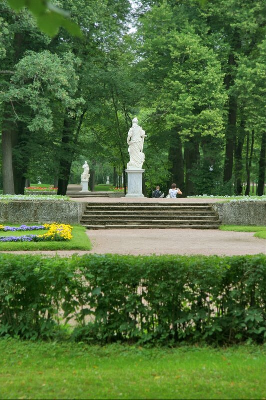 Павловский парк, Большие круги