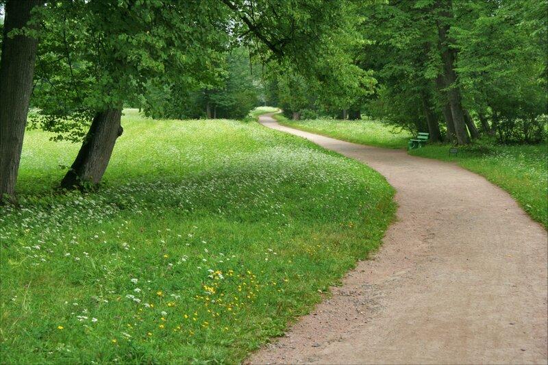 Павловский парк, Дорожка