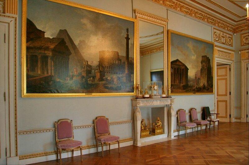 Павловский дворец, жилые комнаты I этажа, Танцевальный зал