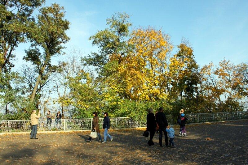 Верхняя терраса Мариинского парка