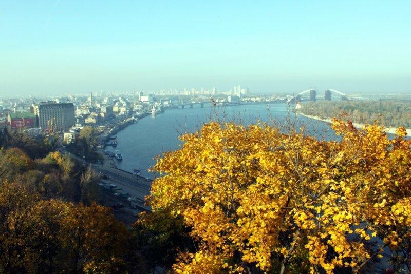 Осень в Хрещатом парке