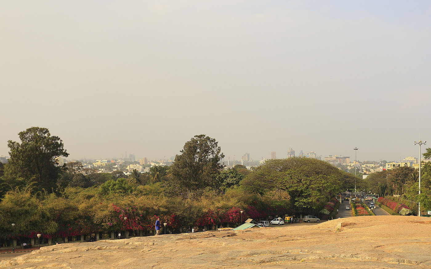 Фотография 11. Вид на столицу штата Карнатака
