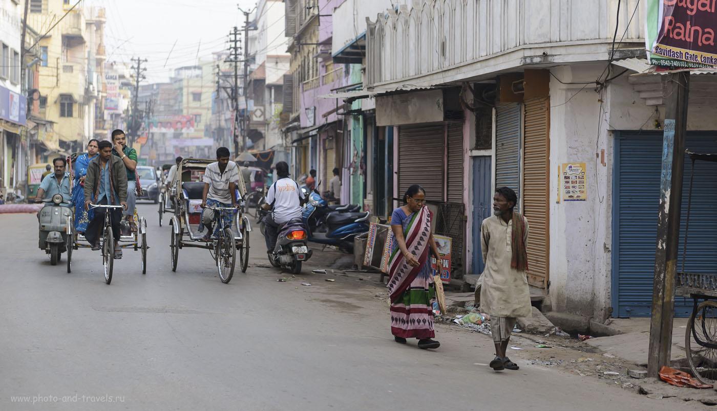 Фото 15. На улицах священного города Варанаси. Туры в Индию. Отзывы туристов. 1/800, 2.8, 250, 70.