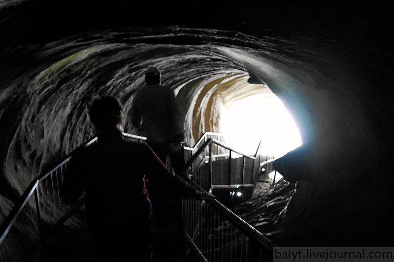 """""""Секретный тоннель"""", ведущий из Уплисцихе к Куре"""