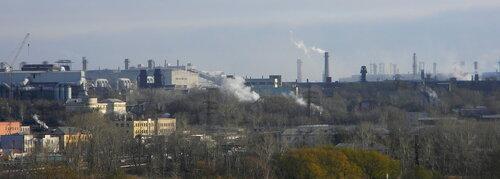Вид с крыши здания - Каслинская, 3