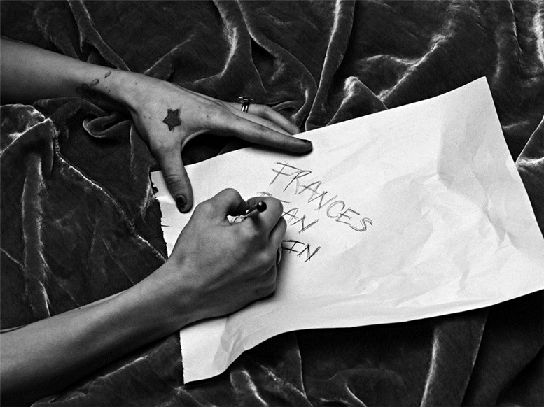 Frances Bean Cobain / Фрэнсис Бин Кобейн, фотограф Hedi Slimane
