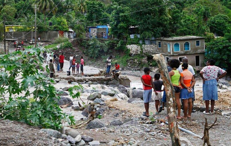 На Кубу и Ямайку обрушился ураган «Сэнди»