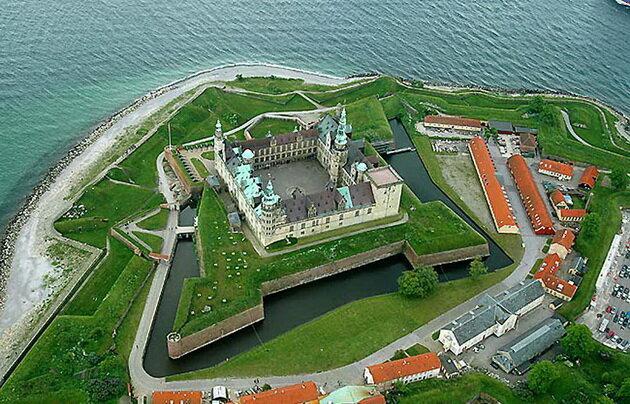 Замок Кронборг. Дания