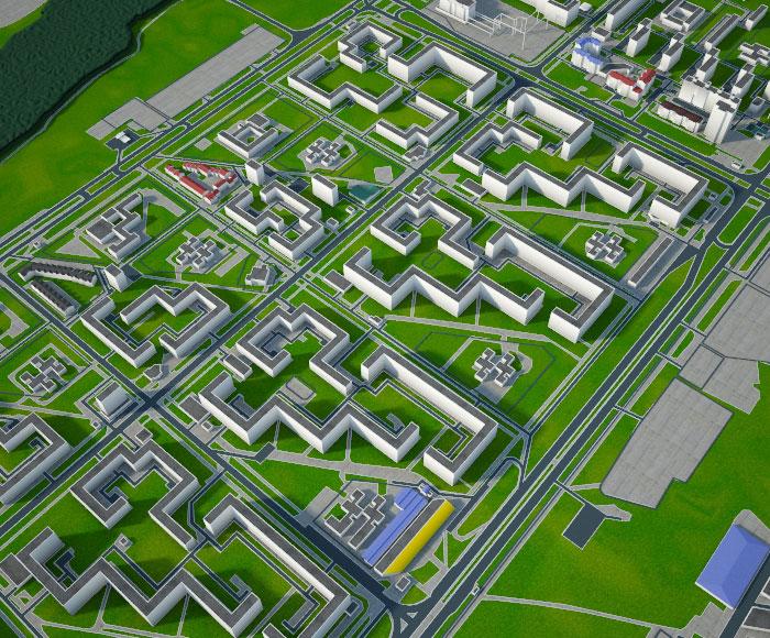 «Кусочек» Нового города