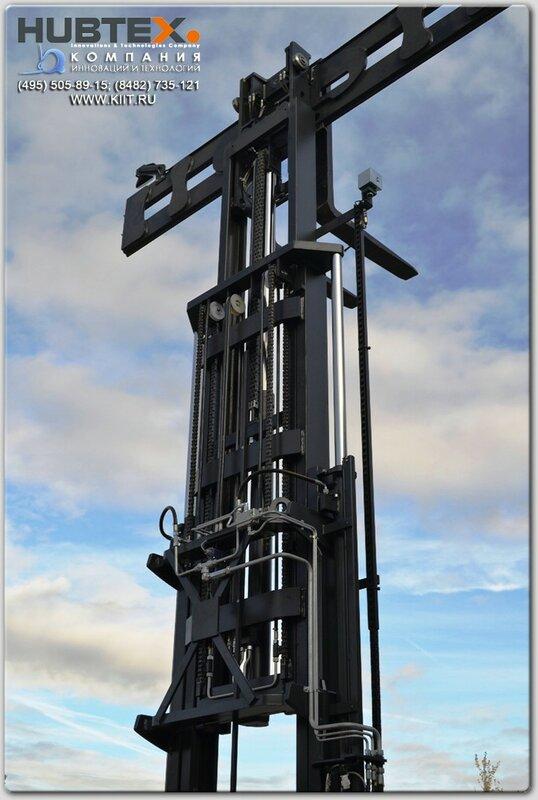 Многоходовые погрузчики HUBTEX высота подъёма 7 метров