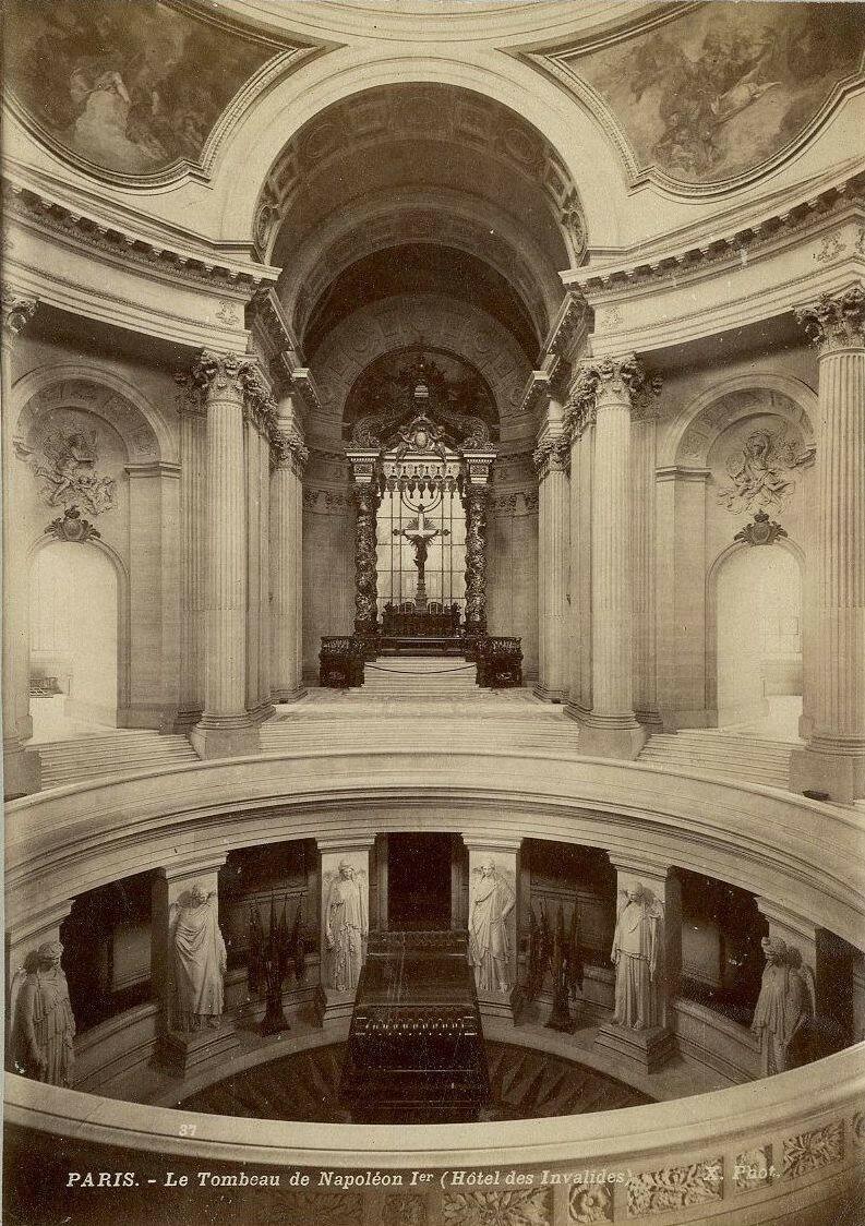 1880-е. Дом инвалидов. Могила  Наполеона